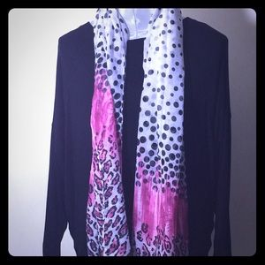 Accessories - Animal print scarf. Variety of colors available.
